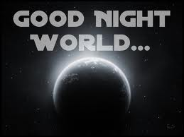 Don't know what's going on it's still faily early but my eyes are soooo heavy right now. I am not going to fight it so, Good Night All!!