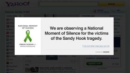 Moment of Silence Sandy Hook Survivors