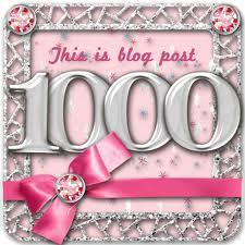 Blog Post 1000