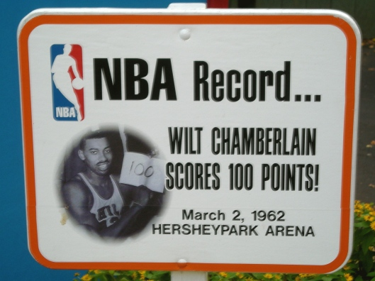 Wilt Chamberlain 100 points