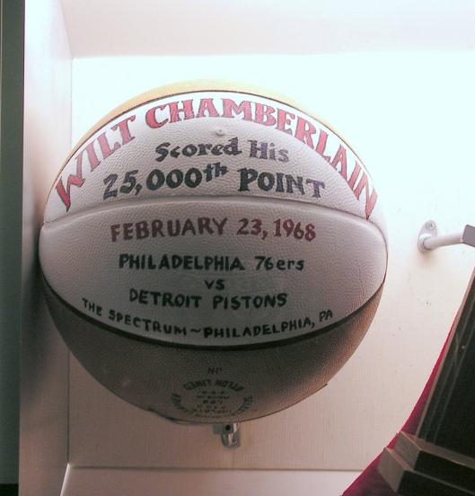 Wilt Chamberlain 25000 points