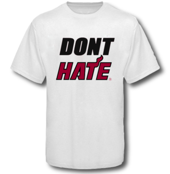 Miami Heat don't hate
