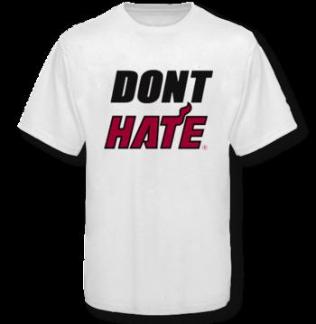 Miami Heat don't hate