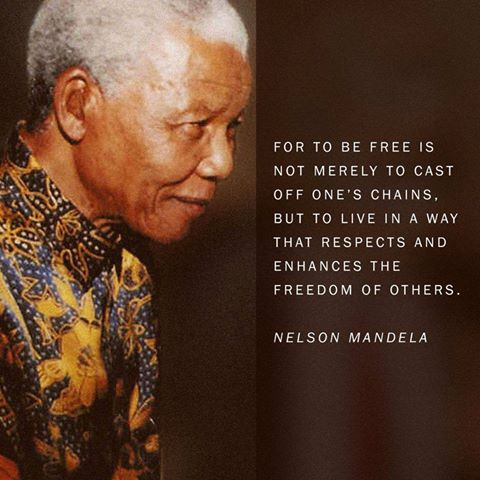 Today is a day that many believed former South African President Mr. Nelson Mandela would not live to see. Yet to God be the Glory. He is here to celebrate his 95th Birthday.