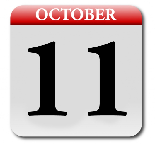 Friday Oct 11 2013