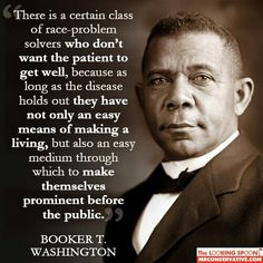Booker T Washington certain class race prob